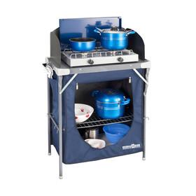 Brunner Talisman - Armoire de camping - gris/bleu